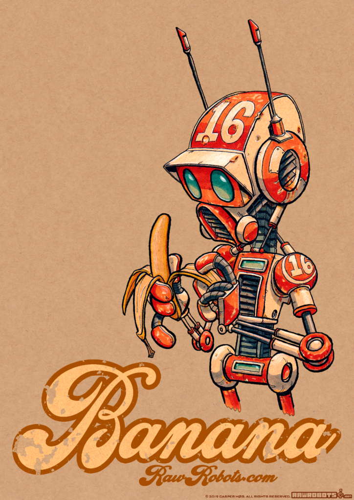 Banana! This Droid Is ready to go bananas! Because it had ap-peal! ?