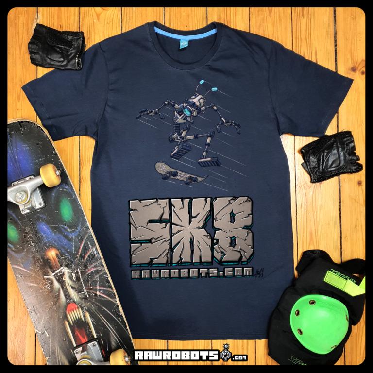 SK8,skateboard,skating,skate,tricks,fly,ollie,graffiti,hiphop,camara,Rawrobots,Raw robots,rawrobots.com,robot,droid,sci-fi,sci fi,toony,cartoon,retro,funny,android,bot,hog,høg