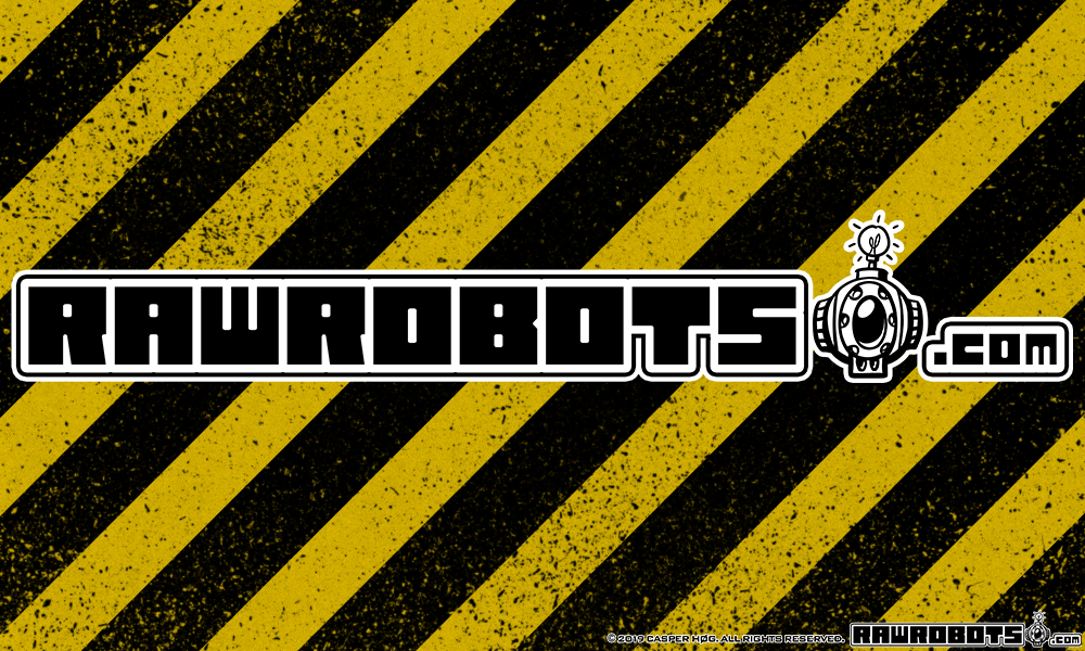RawRobots Logo (long black)