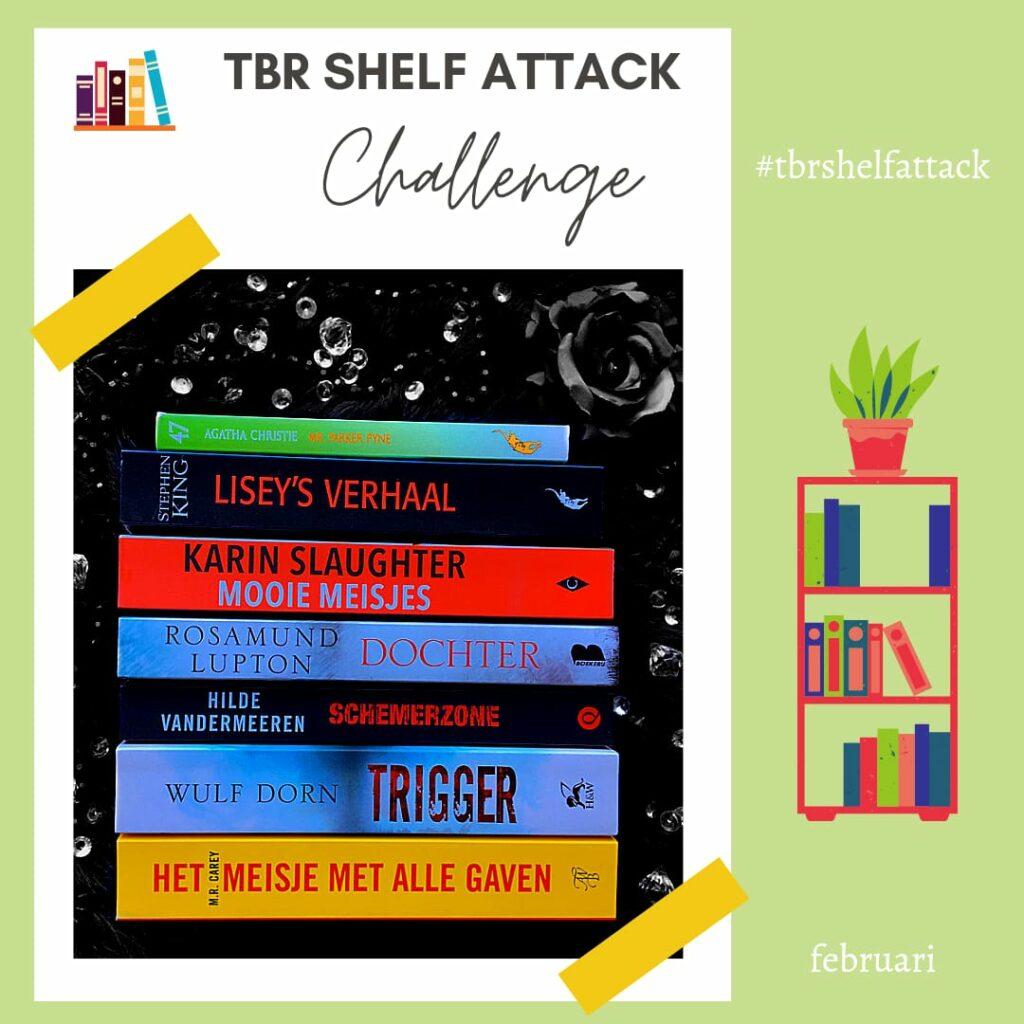 TBR Shelf Attack Challenge