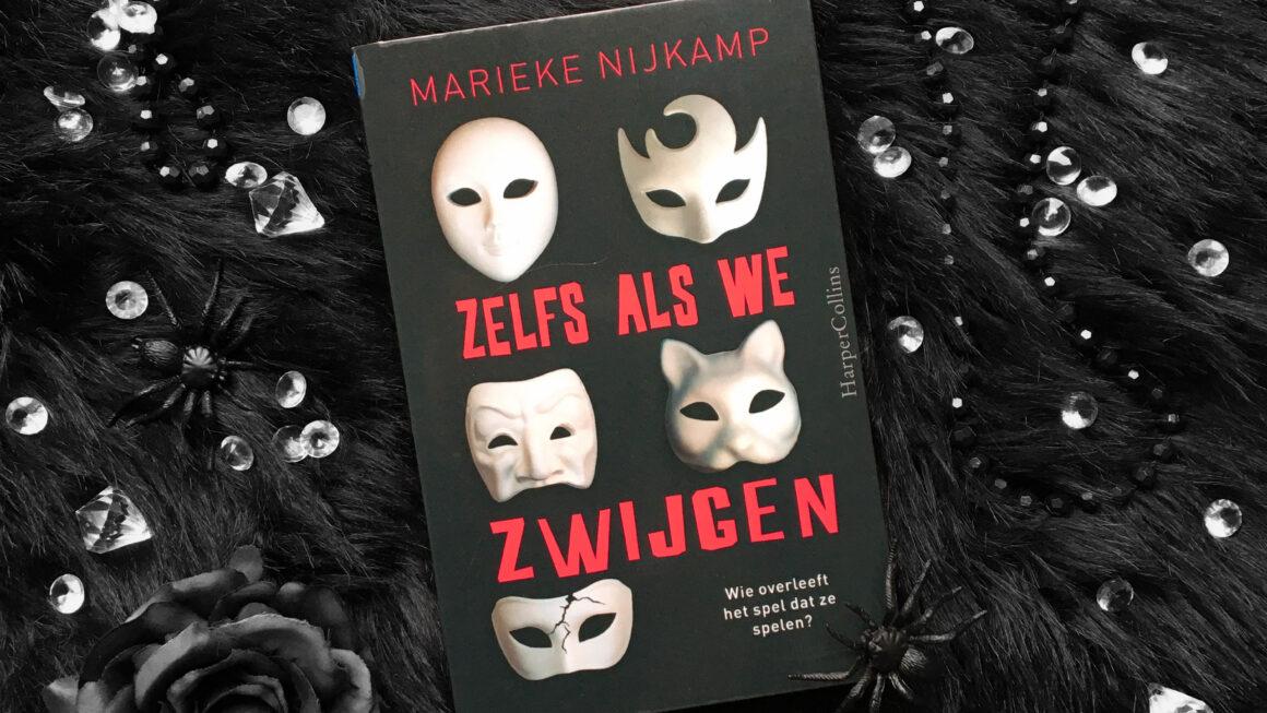 Zelfs als we zwijgen - Marieke Nijkamp