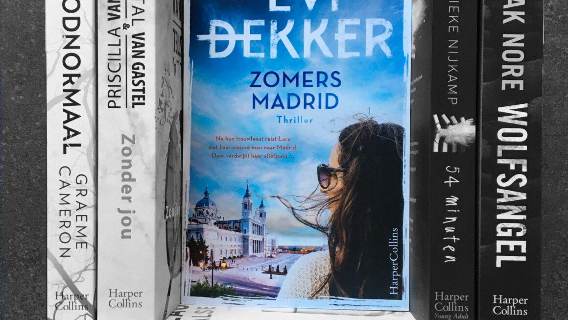Zomers Madrid - Evi Dekker