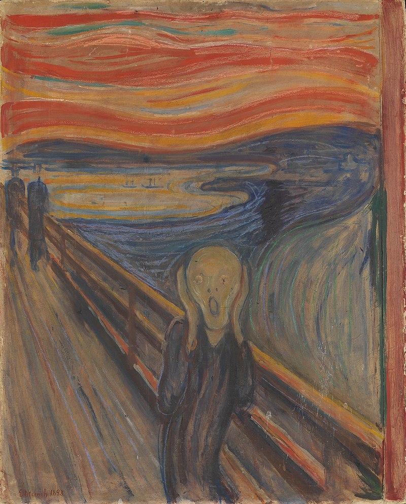 El grito en la naturaleza, primera versión.