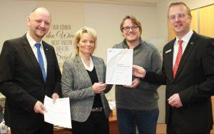 Vereinigte Volksbank und Realschule Steinheim stärken ihre Partnerschaft