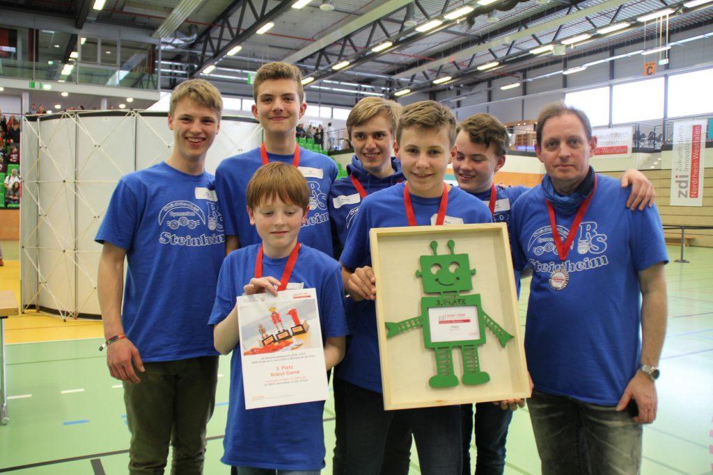 Bronze für die Roboter-AG im Landesfinale