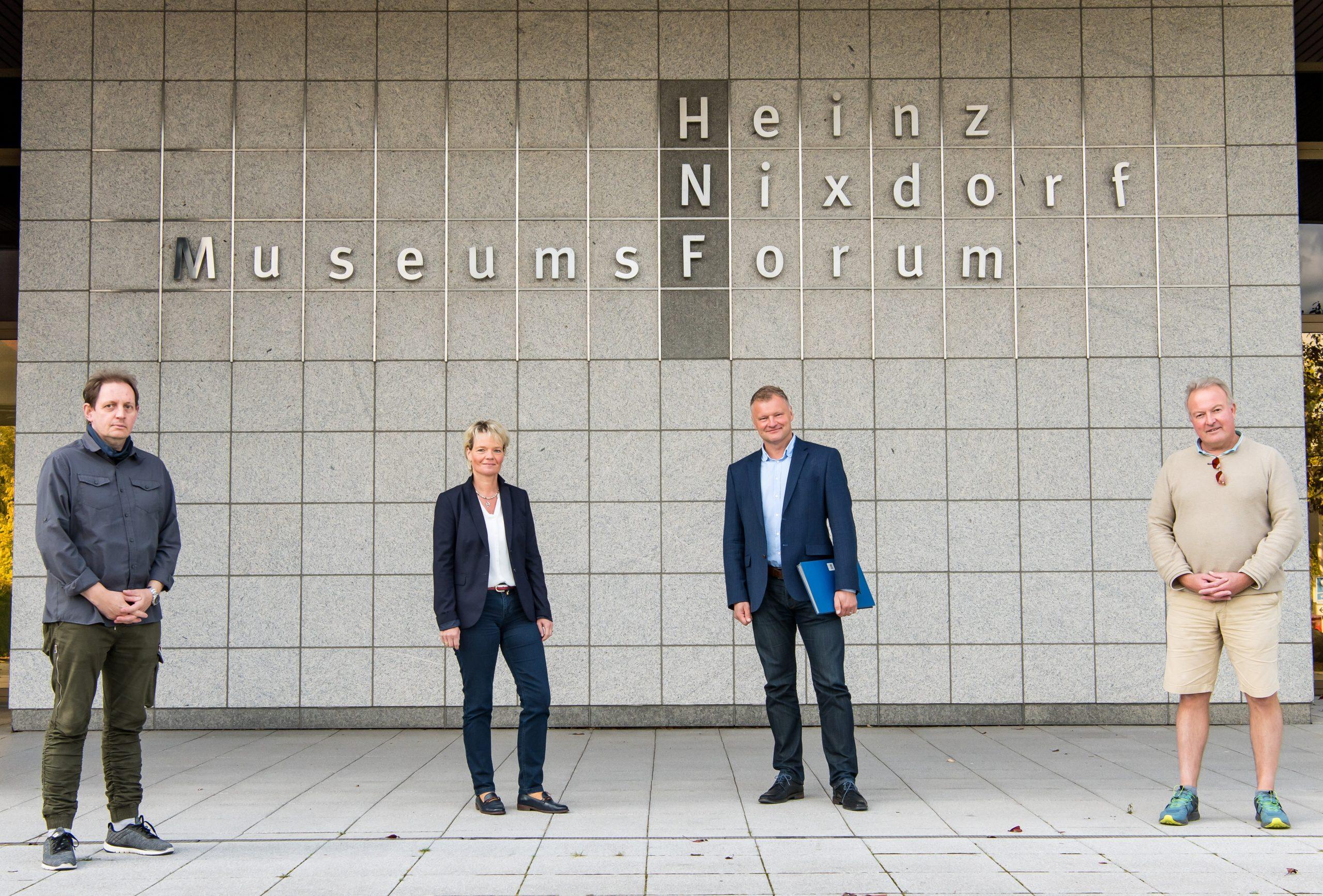 Realschule Steinheim kooperiert mit dem Heinz Nixdorf MuseumsForum Paderborn