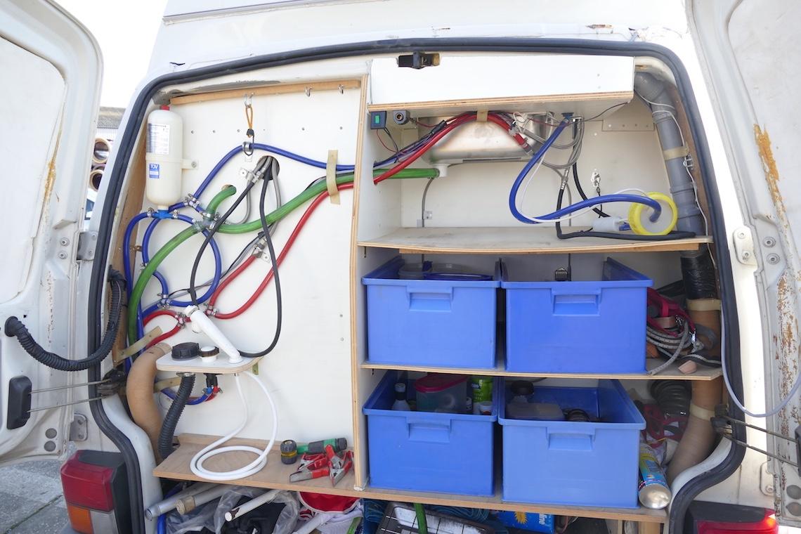 Wasseranlage VW Bus