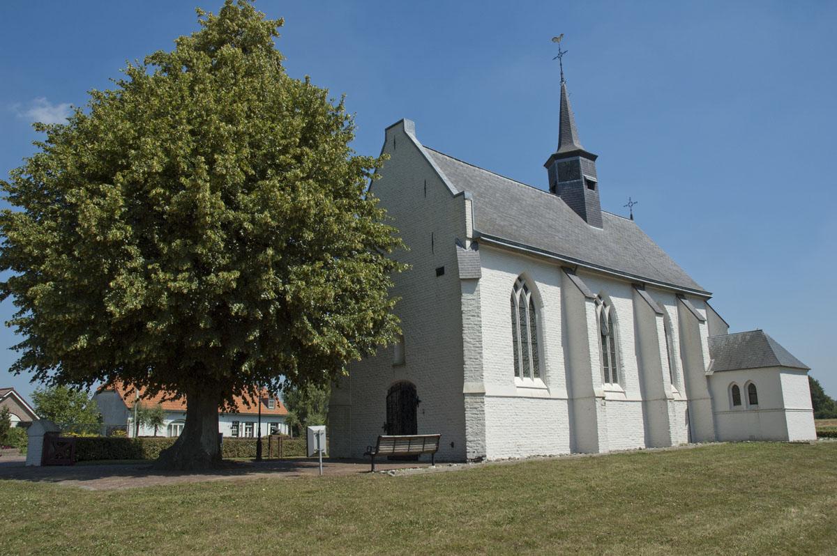 17e eeuwse Kloosterkapel in Gothische stijl in Aijen