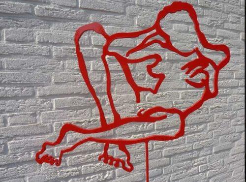 Kunstenaar Henk Visser Nieuw Bergen