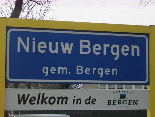 Welkom Nieuw Bergen