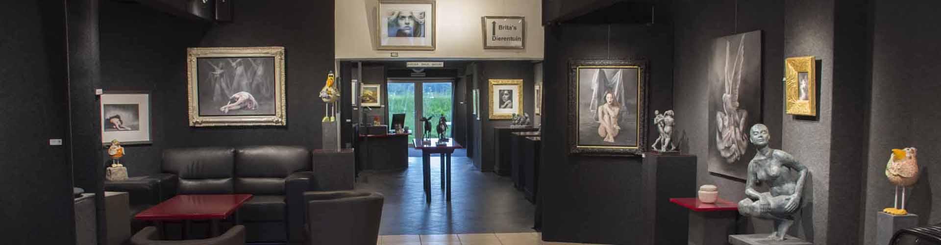 Expositie Brita Seifert Dierentuin bij Galerie Pictura