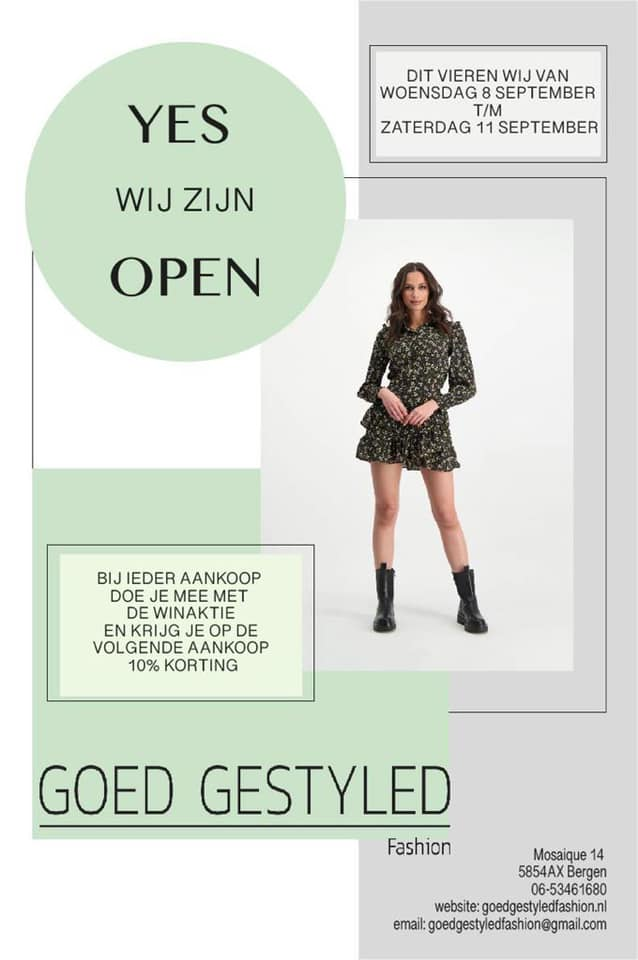 Goed Gestyled affiche