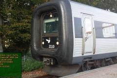 ER 2110 forrest i tog IC  fra Fa. Som sæt 2 kørte MF 5096. Det tredje sæt var MF 5049.