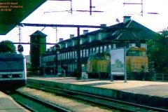 MR-tog rangerer till depot