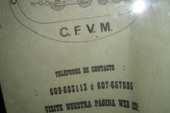 CFVM er museibanens initialer (Club ferroviari vaporista de Mallorca) iflg.  et skilt i en af vognenes vindue, men den korrekte web-adressse skal være <http:>. Siden er desværre kun på spansk.</http:>