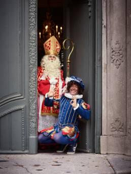 Sint en Piet deur