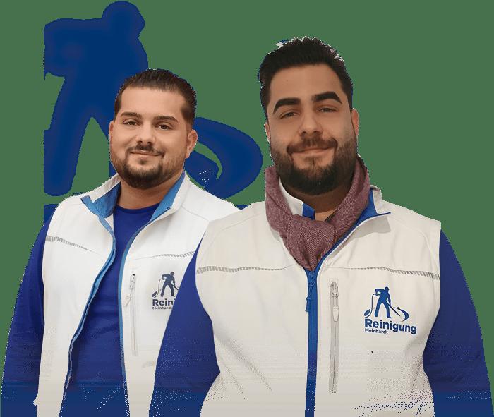 Das Team von Reinigung Meinhardt aus Frankfurt