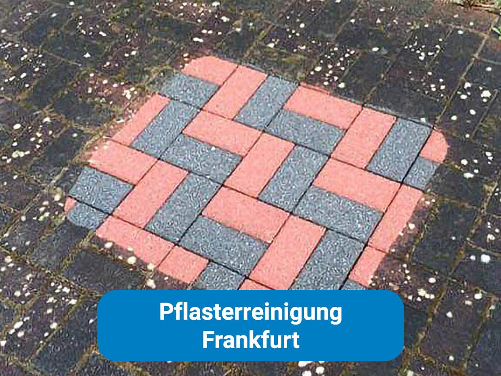 Pflasterreinigung in Frankfurt