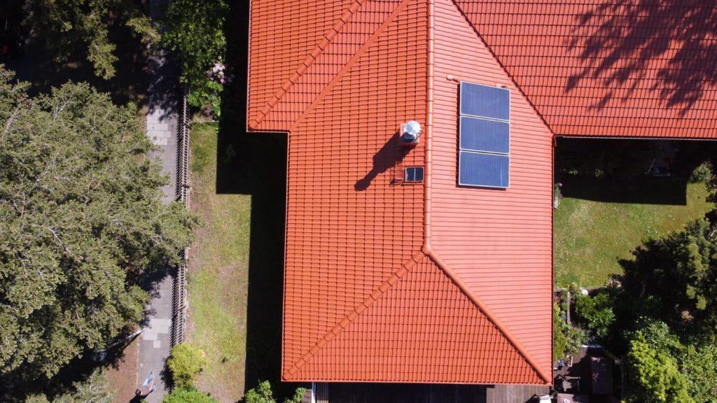 Beschichtetes Dach in Frankfurt von Reinigung Meinhardt