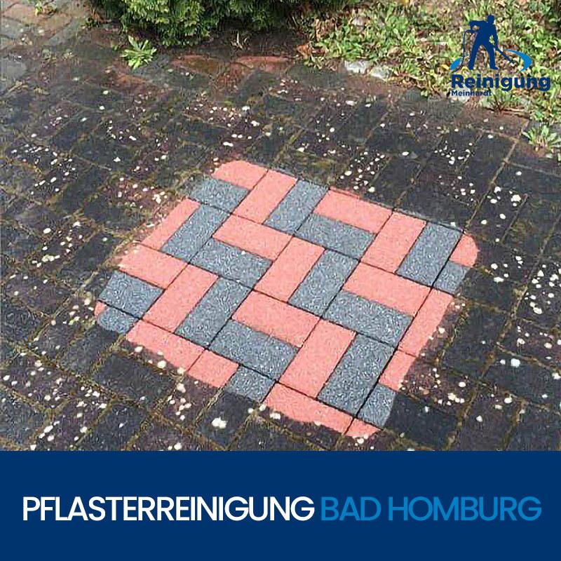 Pflasterreinigung / Steinreinigung in Bad Homburg