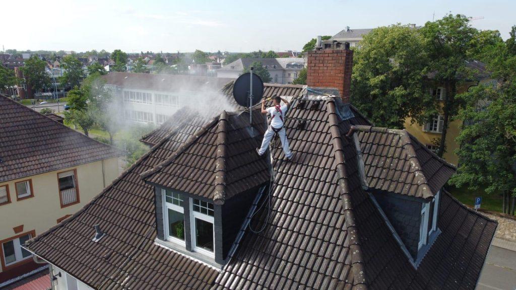 Dachbeschichtung in Frankfurt am Main von Reinigung Meinhardt