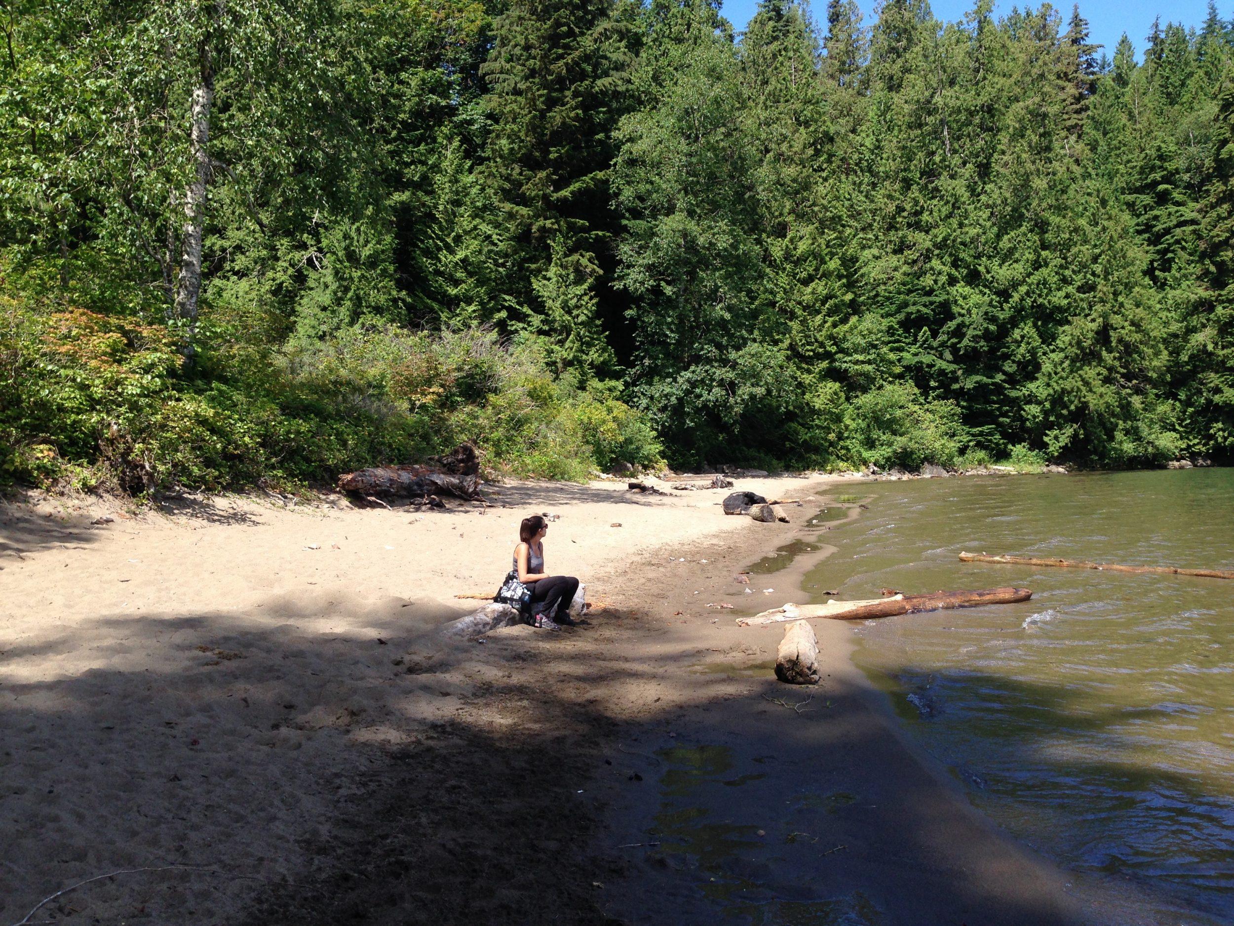 Sandy Cove Trail Brits Columbia