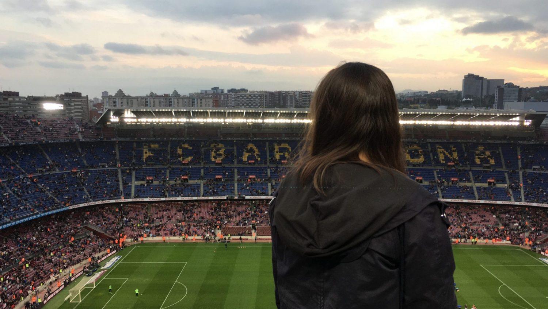 Voetbalstadion Camp Nou Barcelona