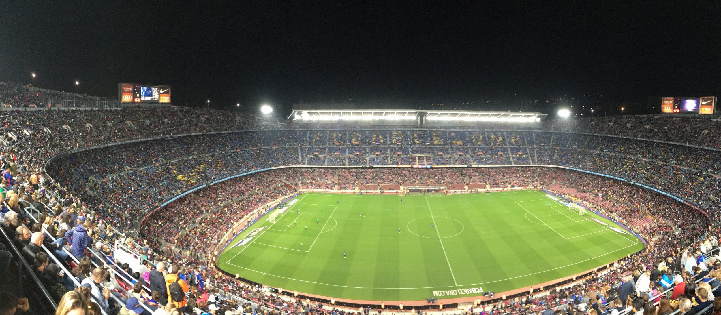 Camp Nou, thuisbasis van FC Barcelona