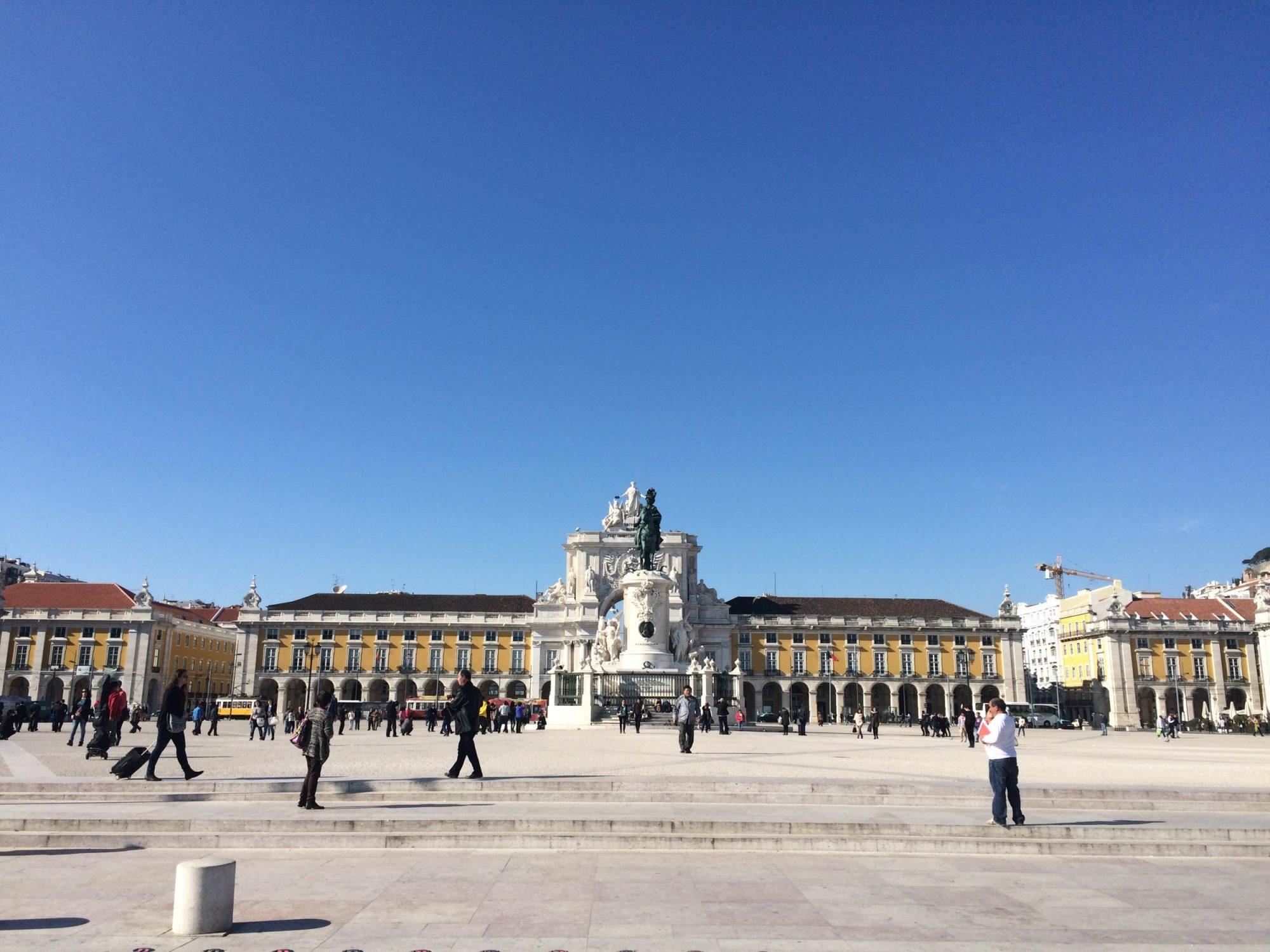 Praca de Comercio Lissabon