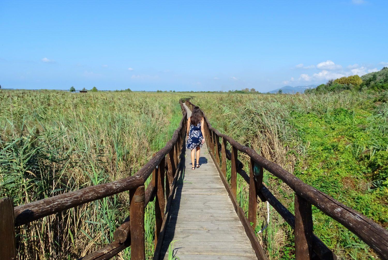 Wandelpad LIPU Oasis Massaciuccoli