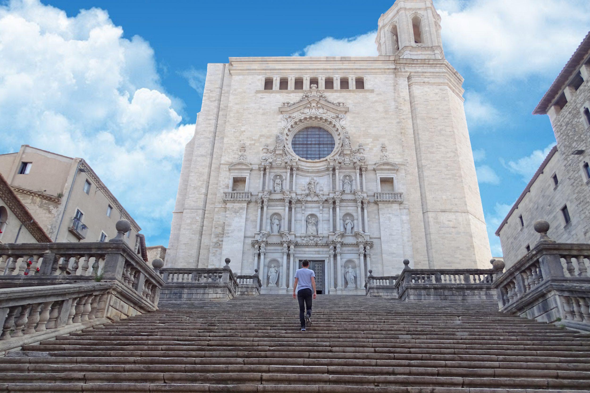 Kathedraal in het oude centrum Girona