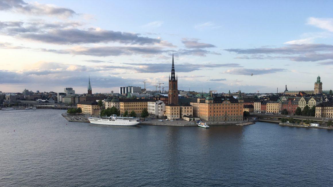 Stockholm uitzicht op Gamla Stan