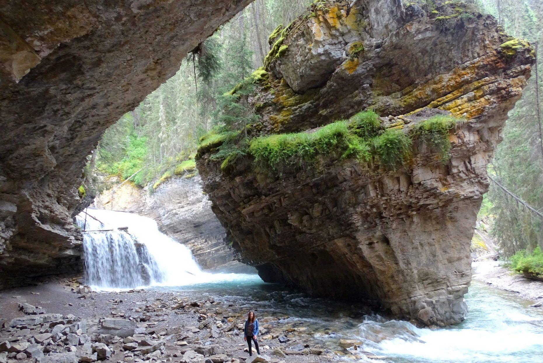 Johnston Canyon Trail