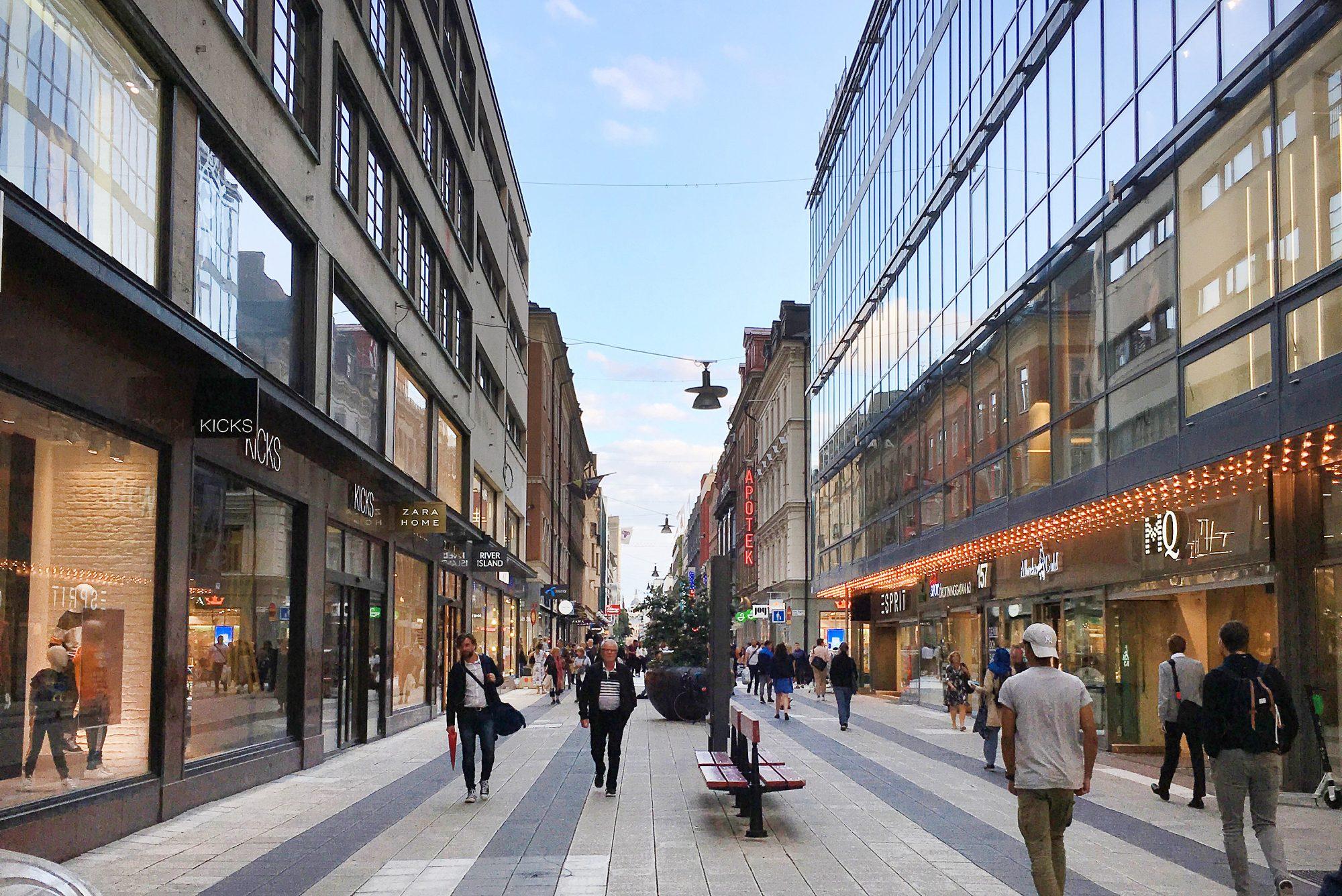 Winkelstraat Drottninggatan