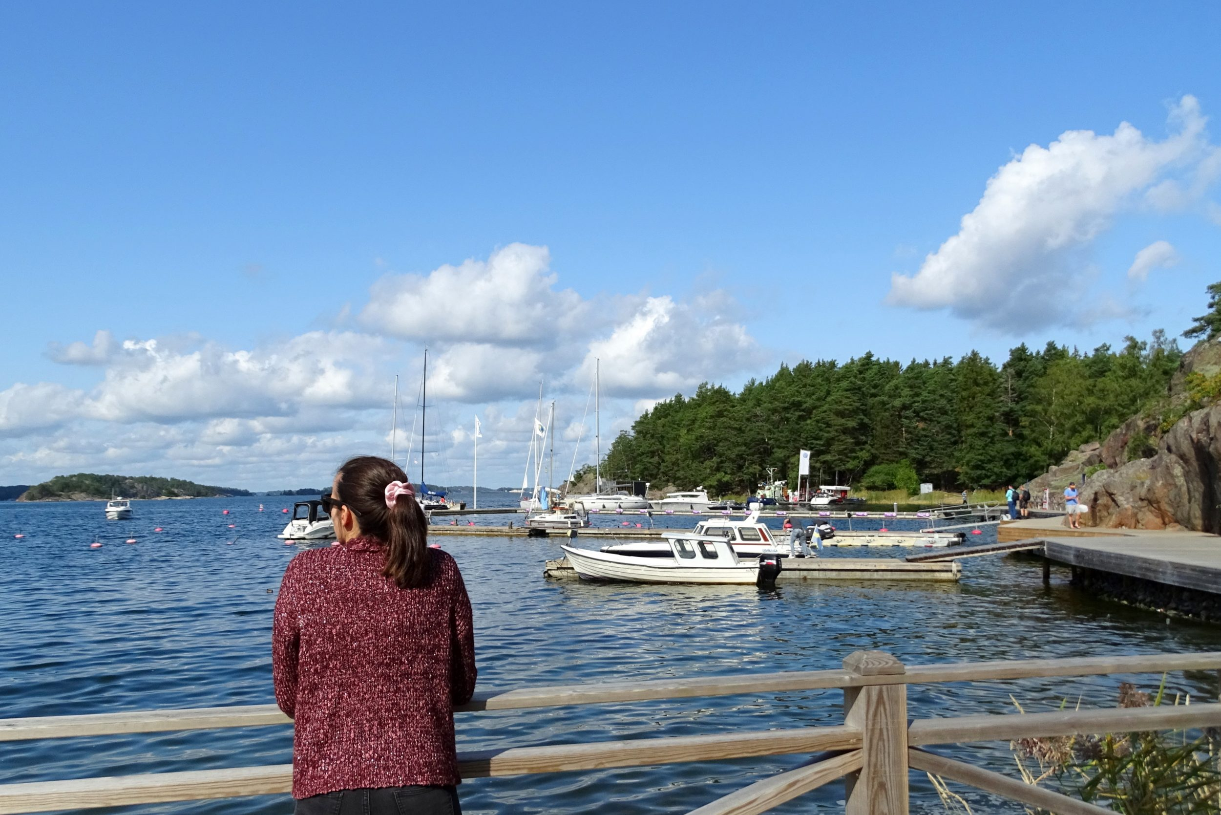 Grinda Gästhamn jachthaven op Grinda