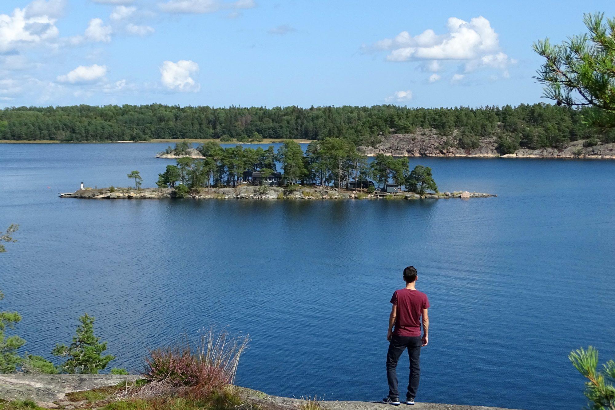 Eiland Grinda in de archipel van Stockholm