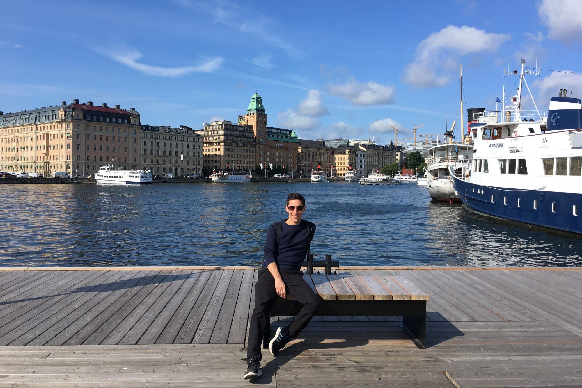 Strandvägen in Stockholm