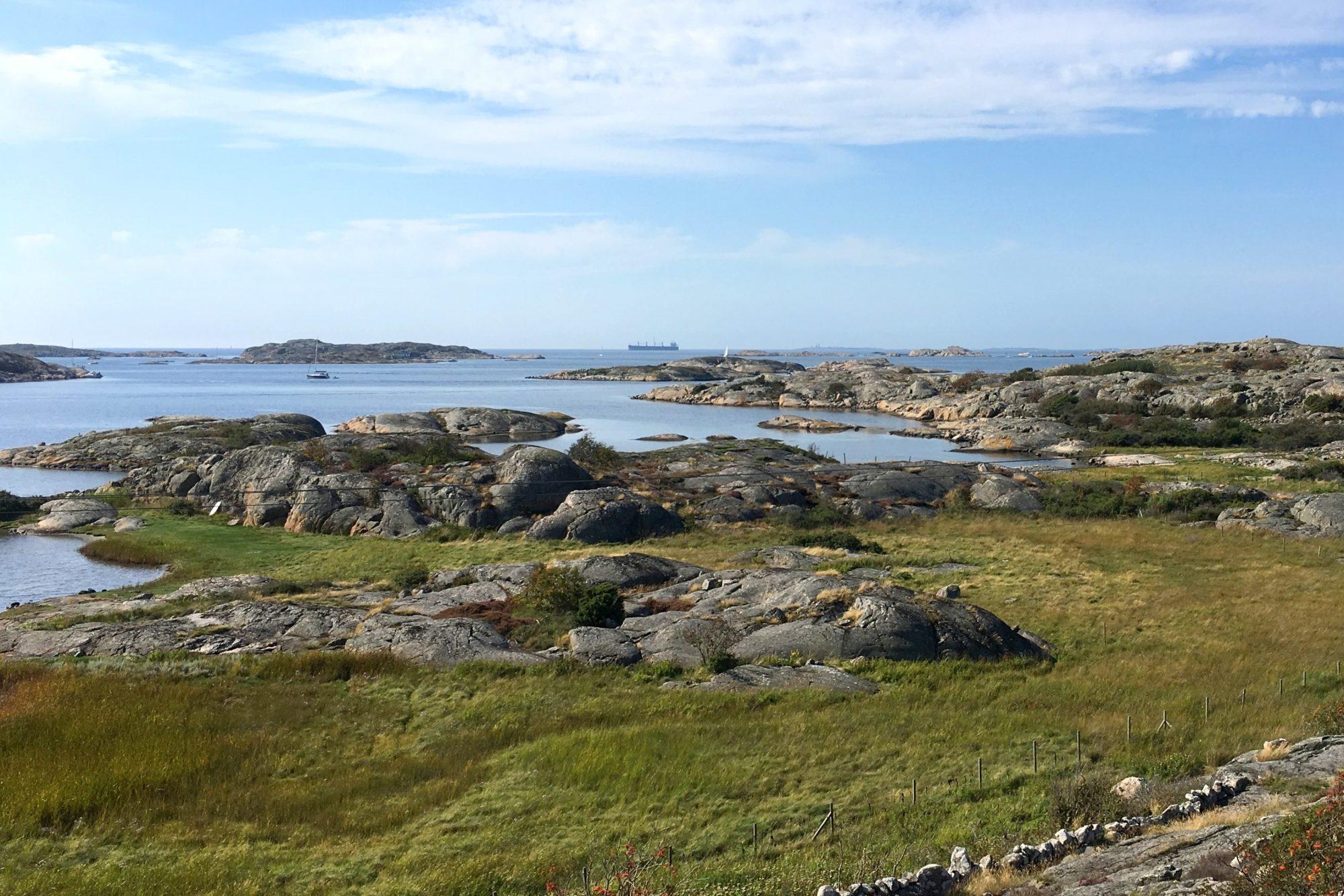 Natuurreservaat op Vrängo