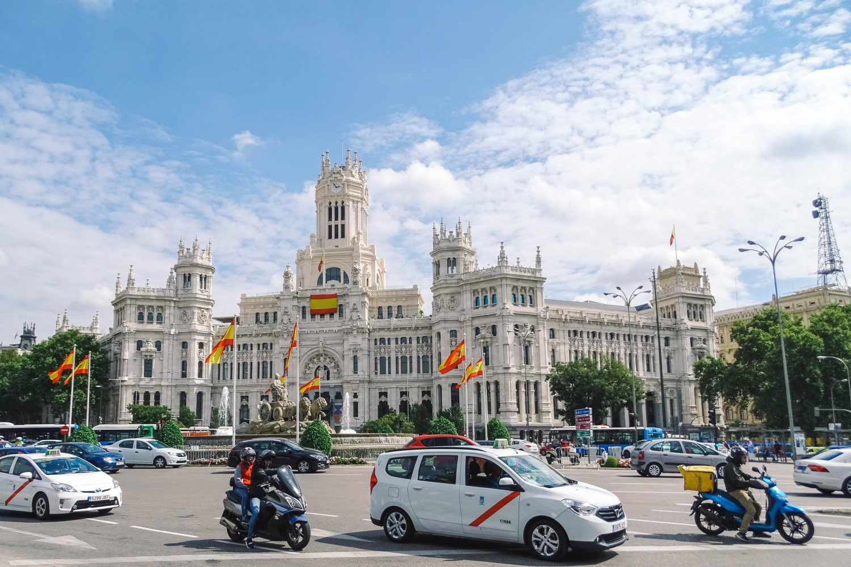 Palacio de Cibeles in Madrid