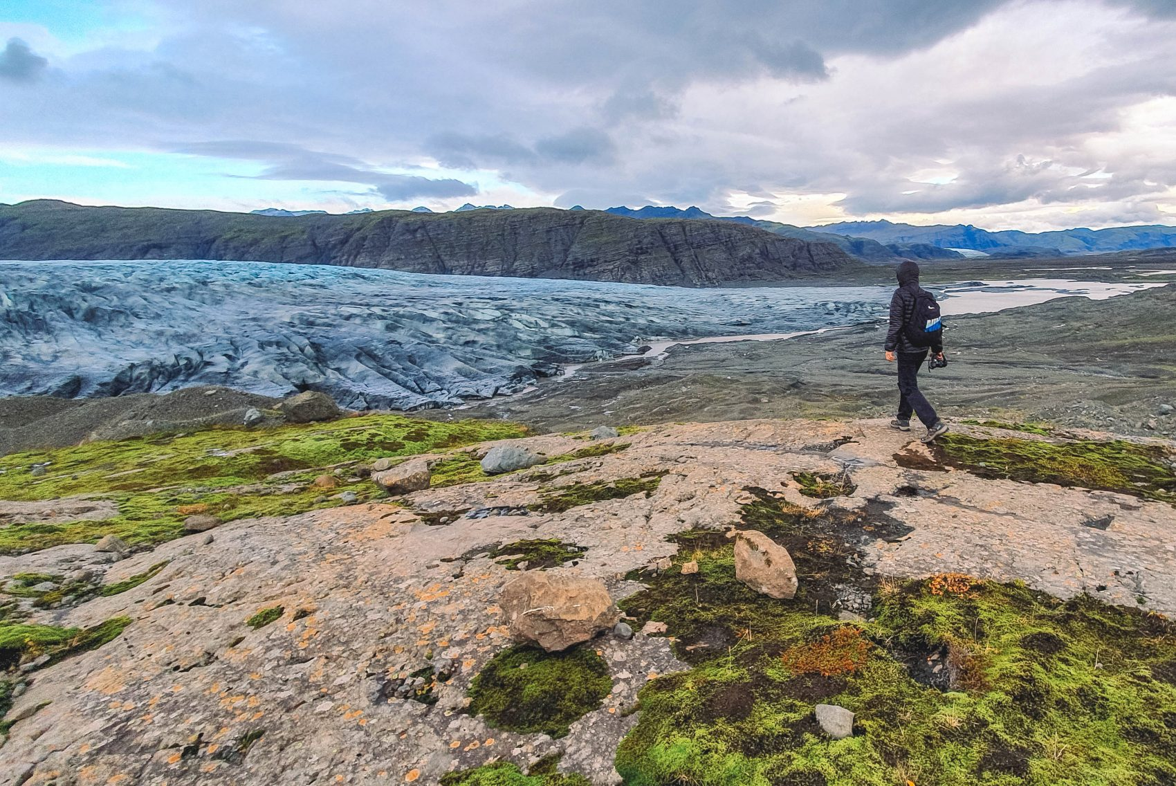 Skálafellsjokull gletsjer wandeling skalafell zuid-ijsland