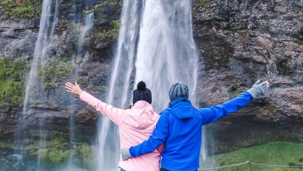 ijsland watervallen