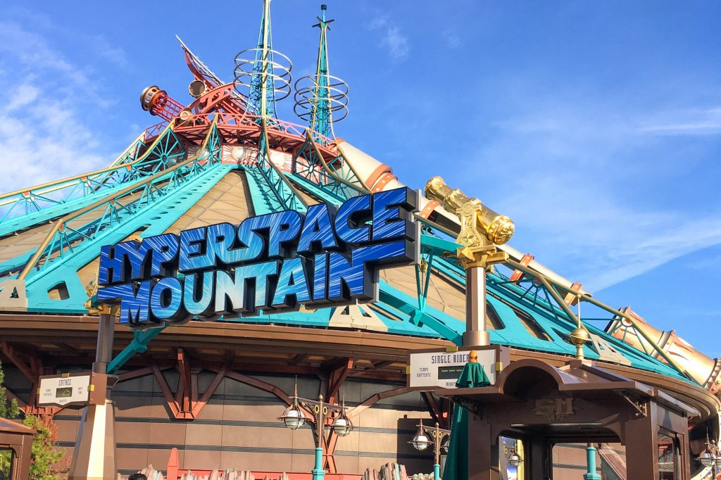 hyperspace mountain disneyland parijs thalys