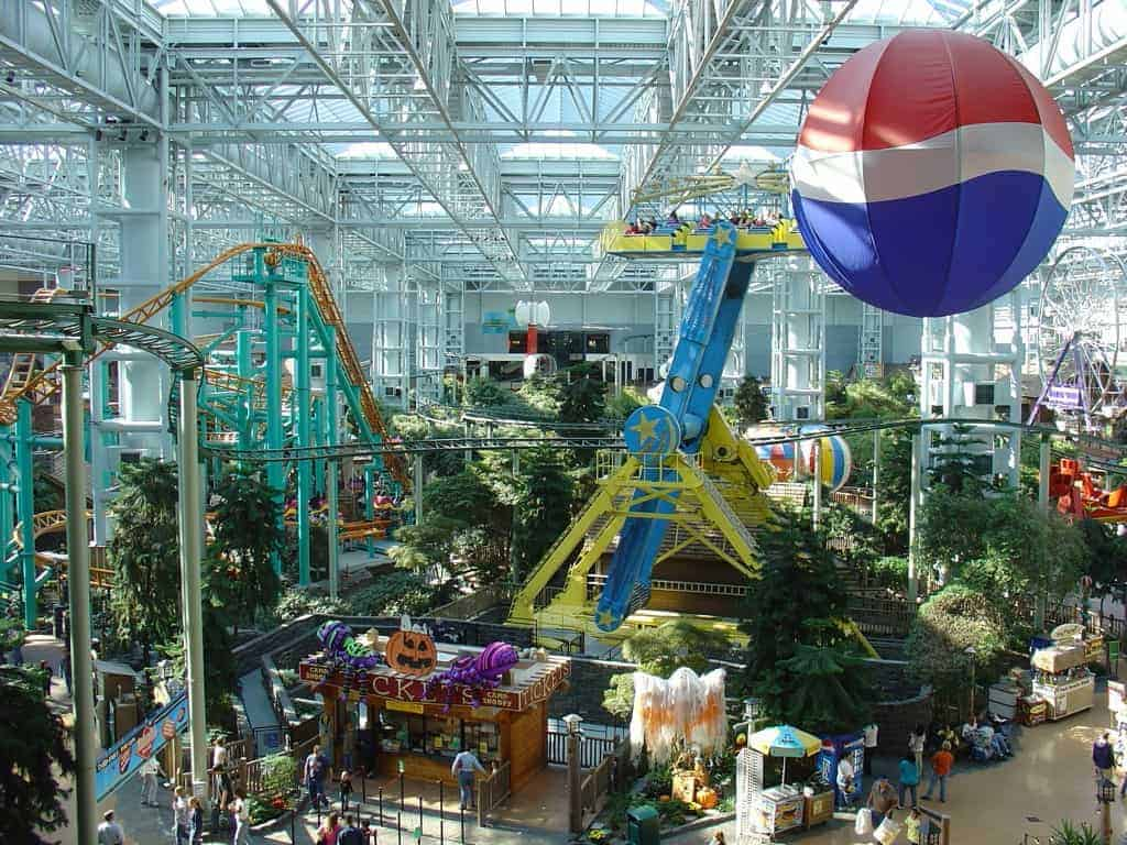 Juleshopping i Mall of America