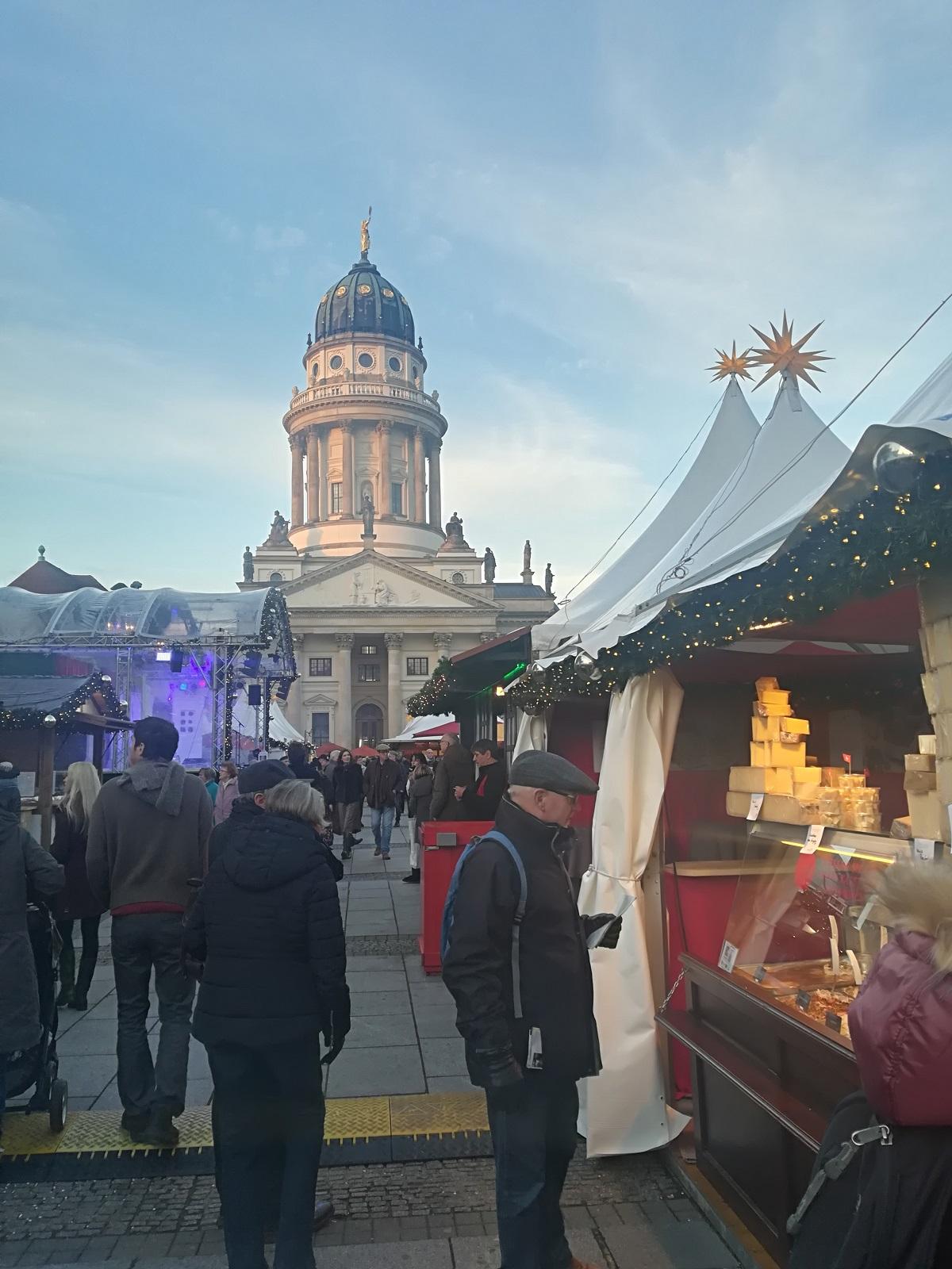 Berlin er i über julestemning