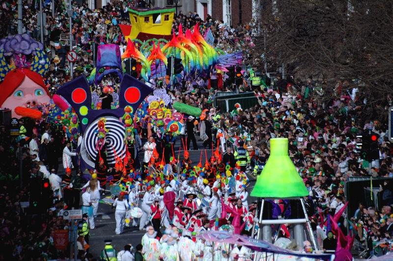 På St. Patricks Dag er vi allesammen irske