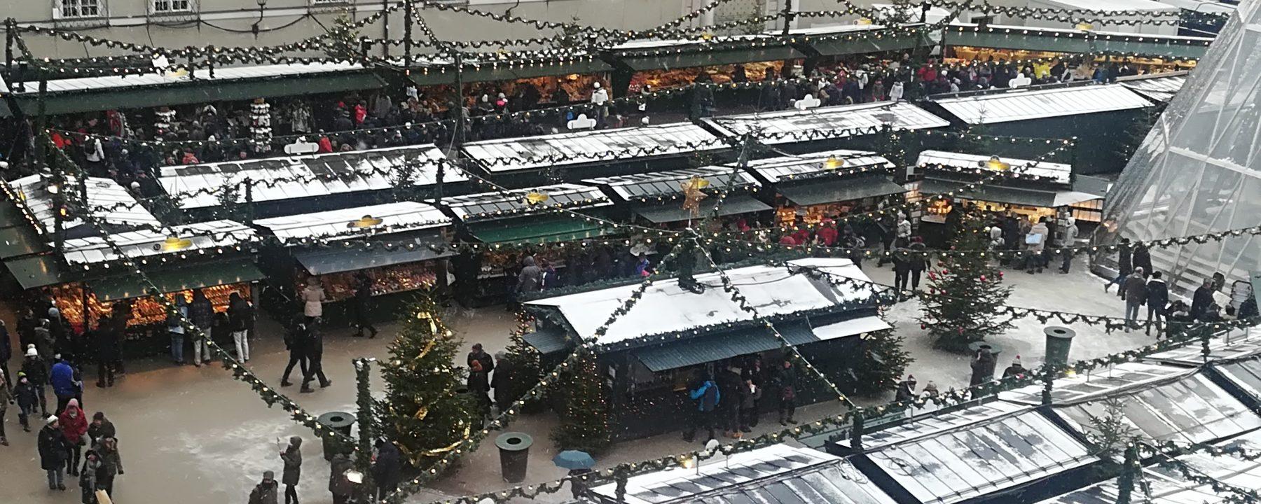 Julemarked i Salzburg