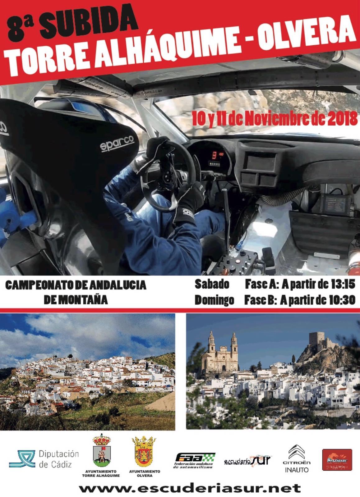 Colaboración Subida Torre Alháquime-Olvera