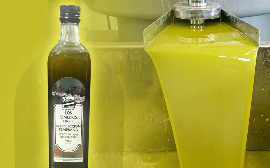 L'huile de première récolte de qualité supérieure est maintenant disponible!