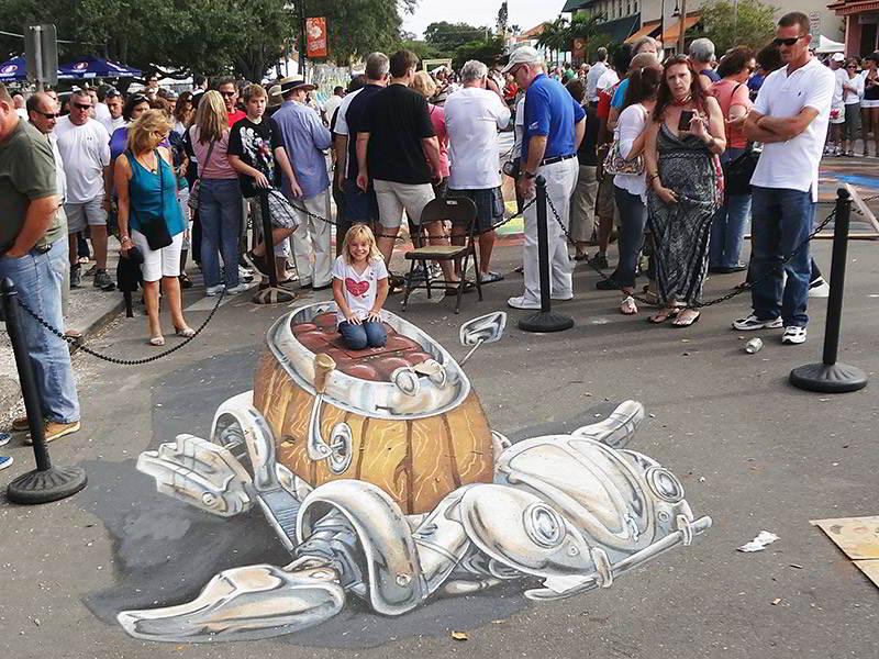 3d-streetpainting-remko-van-schaik-3d-streetpaint-festival-sarasota-2011-1