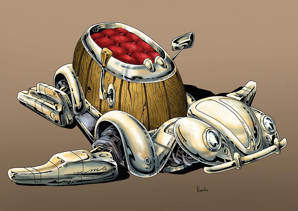 3d-streetpainting-sketch-remko-van-schaik-turtle-transport